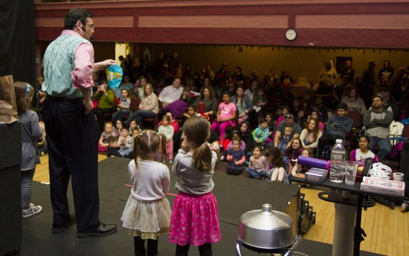 fundraising magic show